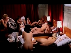 Vintage Guy Fucks In Front of a Group of Women