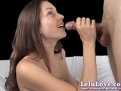 Lelu Love-Topless Blowjob Cock Sucking Tutorial