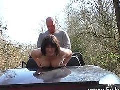 Sabrina's husband asks we anal fuck her