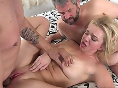 Tiffany Watson Fucks Another Man While Husband Watches