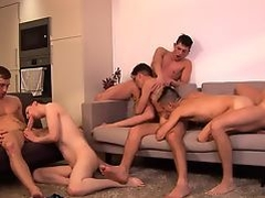 not daddy's Orgy - Six Man Orgy!