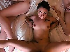 Sexy girlfriends revenge sex with one amazing dude