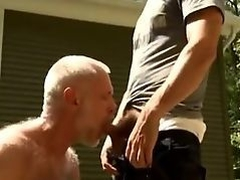 Dad and Son Pissing