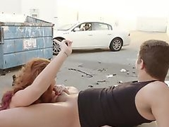 Insatiable Ginger Savannah Fox Loves Public Sex