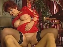 hot granny fuck and facial.