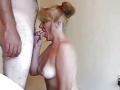 Nice Milf Blow and Swallow