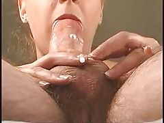 close-up blowjob pov oral cumshot