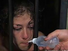 caged and thirsty