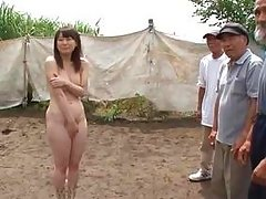 asian chick fucked by workers