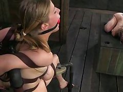 male master abuses two young slaves