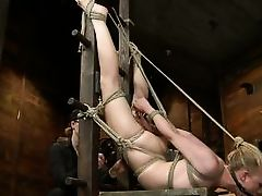 tracey appealing gets fisted by her dominante master