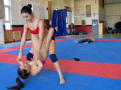 Kerry, Mira Cuckold in NudeFightClub implies Kerry vs Mira Cuckold