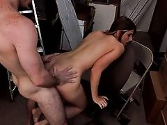 big ass milf receives a big load on her face