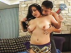 the slutty belly dancer @ white boys and indians #02